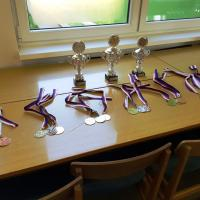 Poháry a medaile